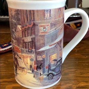 Thomas Kincade Christmas on Main Street cup